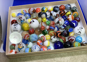 One Group of. little bit of Everything Marbles