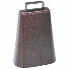 Steel Cowbell Zinc Clapper With Loop & Eye Constructed in a Single Piece