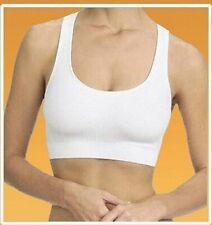 WOMENS SEAMLESS COMFORT BRA Comfy Shapewear Sports Stretch Crop Top Vest Suppot