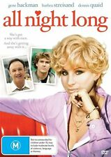 All Night Long (DVD, Region 4) Barbra Streisand - Brand New, Sealed