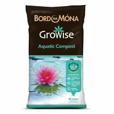 More details for growise aquatic and pond plant compost soil strong roots stabilise foliage 20l