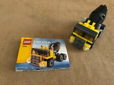 7876 LEGO Complete Creator City Construction Cement Truck instructions town