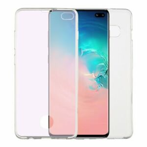 For Samung Galaxy S10+ Case Transparent Full Cover Ultra-thin Double-sided Cover