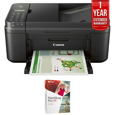 Canon WiFi All-In-One Printer Scanner Copier Fax w/ Paint Shop Pro X9 Bundle