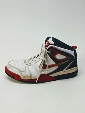Nike Air Flight Falcon Men's Casual Sneakers 397204-168 Black/Red/White Size 8.5