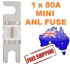 1 x 80AMP Mini ANL Fuse for Car Amplifier Wiring Kit Fuse Holders 80A - Midi AFC