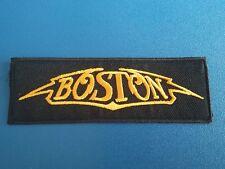 PUNK ROCK HEAVY METAL MUSIC SEW / IRON ON PATCH:- BOSTON