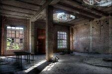 Ivo Sneeuw: Fylenbosch Keilrahmen-Bild Leinwand Interieur lost places