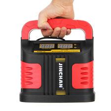200000mAh 12V/24V Car Jump Starter Emergency Charger Booster Power Bank Battery