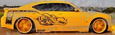 2006-2010 Decal Graphics Vinyl CHARGER MOPAR SRT SUPER BEE HEMI TRIBAL SUPERBEE