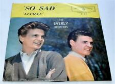 The Everly Brothers So Sad / Lucille 1960 WB 5163 Rockabilly PS 45rpm Strong VG+