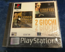 Videogame TOMB RAIDER III 3 + VI 4 Playstation 1 PSX PS1 PSONE NEW&SEALED 2Games