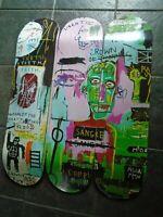 JEAN-MICHEL BASQUIAT skateboard decks wall art home decor wood famous artist new