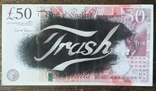 Dotmasters Trash or Cash 2014 exhibition colour card flyer £50.