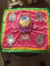 NWT Baby Gund Colorful Activity Toy plush Giggles mirrors crinkle & Squeaker