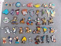 Choose your lapel pin badge - Cartoon Fred Flintstone or Space Shuttle