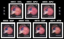4853 4854 4855 4868 4869 4870 4871 Star Spangled Banner Forever 2014 MNH Buy Now