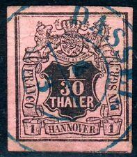 Hannover Mi.-Nr.3a o (MICHEL EURO 65,00) feinst