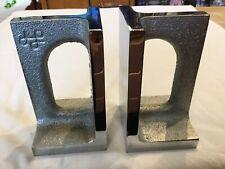 BILL CURRY / DESIGN LINE California  Mid Century Modern Chrome Bookends