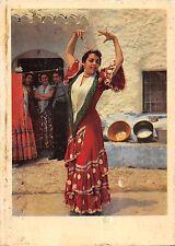 BR55031 Cueva de Los Amaya en el sacromonte Granada Folklore costume spain 1