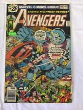 """Marvel Avengers Vol 1 No 149; """"The Gods and the Gang!""""  1976 FN / VF"""