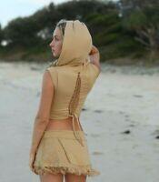 PSY Trance gilet GOA Woodland Pixie Clothing vêtements HIPPIE FESTIVAL TOP