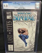 Doctor Strange, Sorcerer Supreme #72 (1994) Gross Art CGC 9.8 White Pages Y665