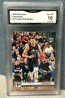 2018 Chronicles Luka Doncic #111 Panini Pink Rookie GMA Gem Mint 10