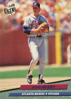 Steve Avery 1992 Fleer Ultra #157 Atlanta Braves Baseball Card