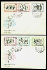 1966 Calusarii,Ritual dance,Folk Dances,Costumes,Danse,Danza,Romania,2487,FDC