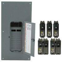 200 Amp 20-Space 40-Circuit Indoor Main Breaker Panels Box Door Cover Electrical