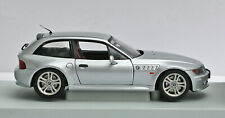 (Very Rare) UT BMW Z3 Coupe 2.8-Silver Dealer Edition 1:18 Die Cast-In Box (OOP)