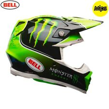 Bell MX 2018 Moto-9 Mips Adult Helmet (Tomac Monster Replica) Size Large Kxf Kx