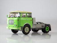 Scale model truck 1:43 Skoda-706 RTTN green