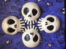 4x Haunted Mansion Holiday SKULL Walt Disneyland Halloween Yard Decor Decoration