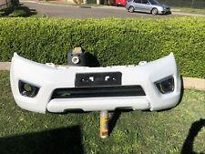 Genuine Nissan NP300 ST-X Front Bumper Bar Polar White