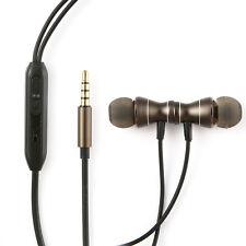 Magnet Earphone Headphone Waterproof MIC Stereo Headset For Sumsung Gun Grey AU
