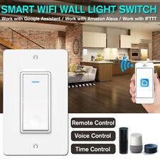 Smart Switch Wall Light WIFI Remote Control Smart Life For Alexa & Google   <.