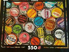Ceaco® Collage Jigsaw Puzzle ~ Vintage Soda Pop Bottle Caps