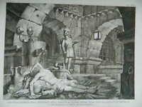 Print Tommaso Of Vivo [ Regno Delle Due Sicily] Pietro Delle Vine 1833