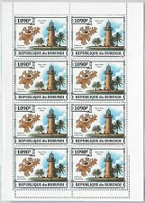 Burundi Famous Venetian Architecture Stamps Set 1974 Stamps Topical Stamps