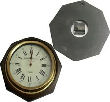 "brass RING  12""  ANTIQUE WALL CLOCK replica"