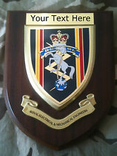 REME Royal Electrical Mechanical Engineers Personalised Military Wall Plaque