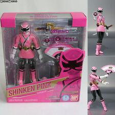 [USED] Limited S.H.Figuarts Shinken Pink Shinkenger Figure BANDAI Japan