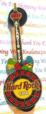 HRC Hard Rock Cafe Atlantic City 2005 Roulette Guitar Taj Mahal Pin NEW # 27741