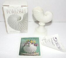 Margaret Furlong Paper Nautilus Small Vase and Place Card Holder in box
