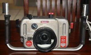 MEGA-PAKET !!! SEALUX Gehäuse CX 5000 + Nikon Coolpix 5000 + Domeport + Fisheye
