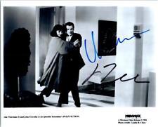 John Travolta Uma Thurman Signed 8x10 Photo Autographed Picture plus COA