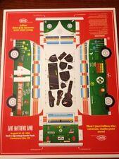 Dave Matthews Band Poster 2013 Commerce City Co Van Cut Out Print 11x14 Rare!