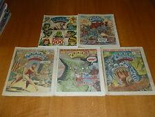 2000 AD Comic - 5 PROG JOB LOT - Progs 500 too 504 Inclusive - UK Paper Comic